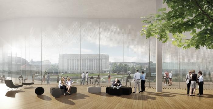 Návštěvníci knihovny budou mít krásný výhled