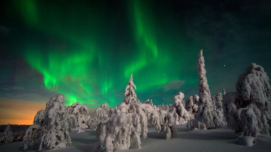 Laponsko navštíví kvůli polární záři ročně tisíce turistů