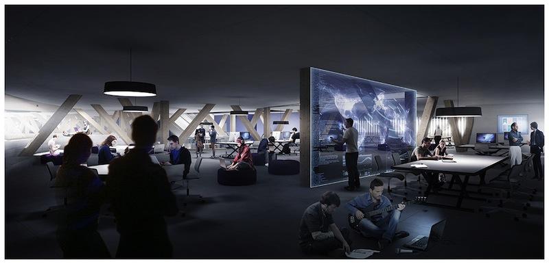 Interiaktivní část knihovny počítá s interaktivními prvky