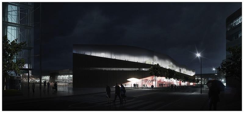 Ve večerních hodinách nebude knihovna zářit na celé Helsinki, ven pronikne jen přirozené světlo