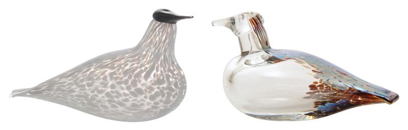 Ptáčci ze skla z Finska jsou díky ruční výrobě každý originál