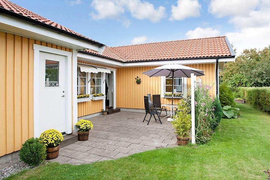 Švédský dům - terasa