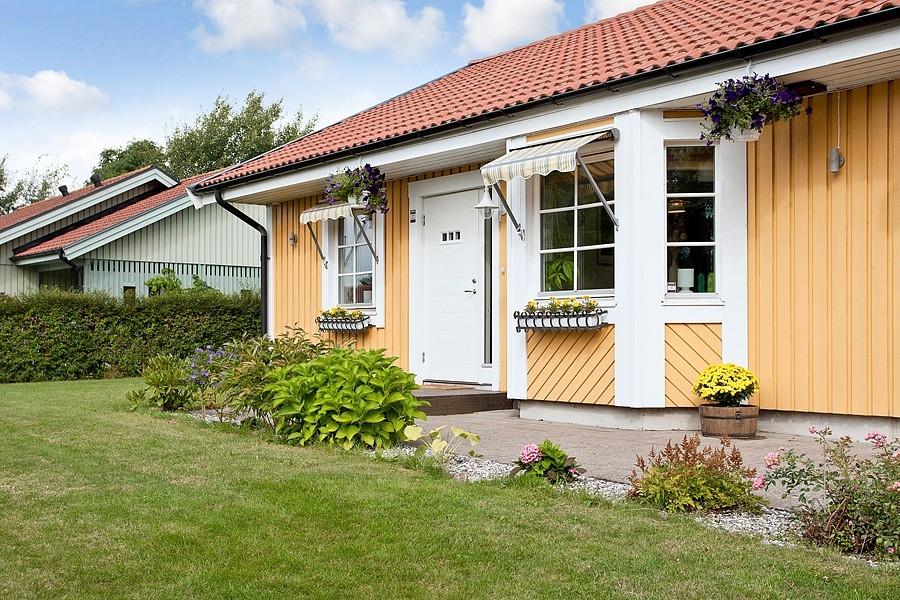 Švédský dům - vchod