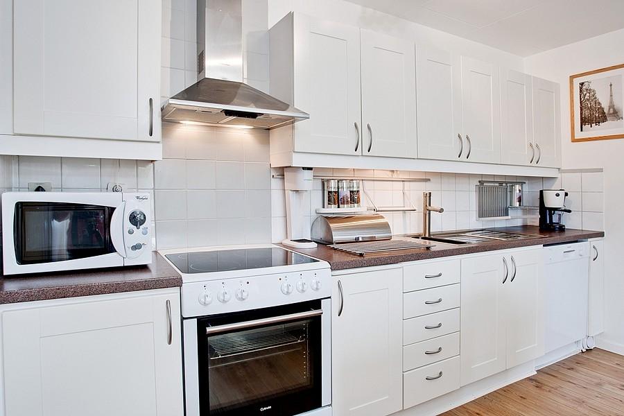 Skandinávský interiér - kuchyně