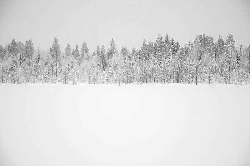 zasnezene Finsko