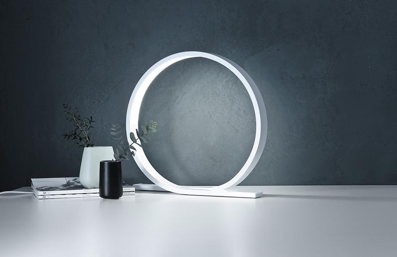 Himmee Loop bílá stolní lampa